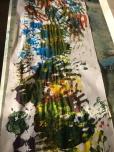 Hand prints School Art 4 Kids